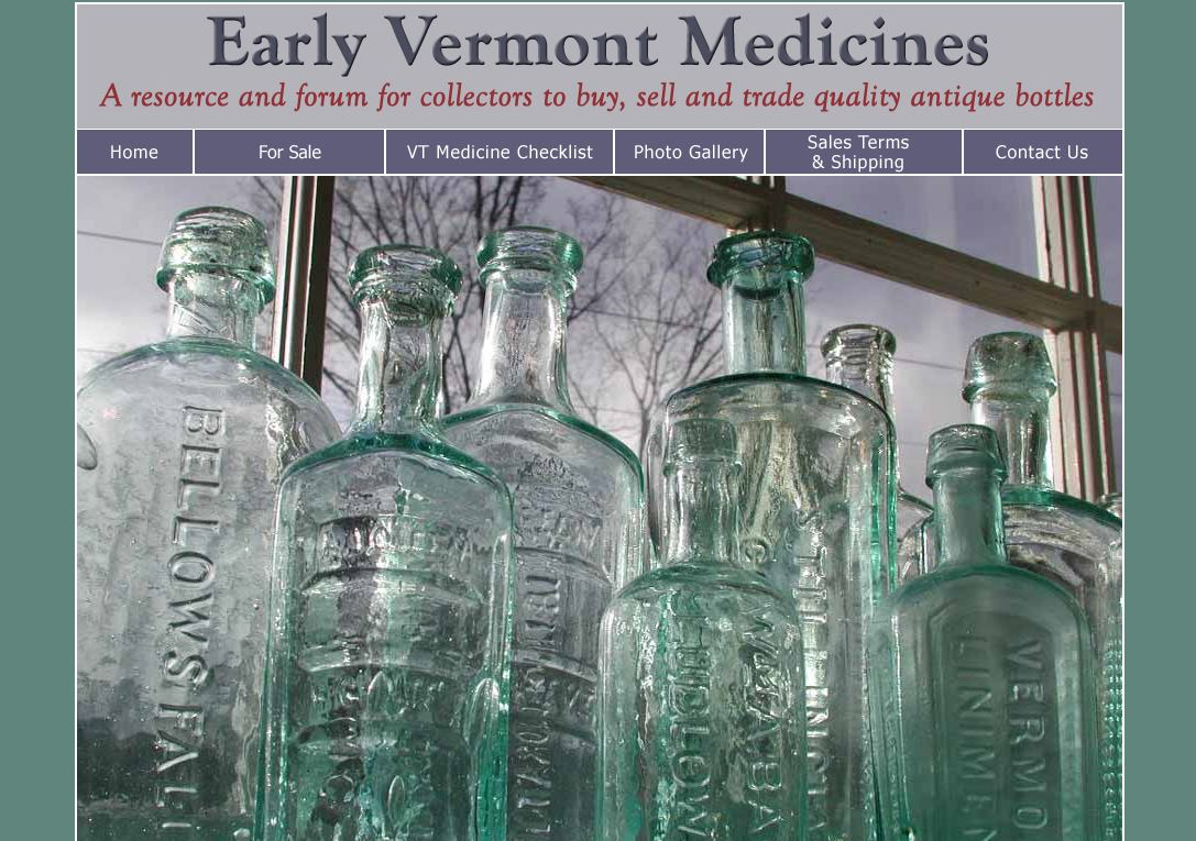 Early Vermont Medicines
