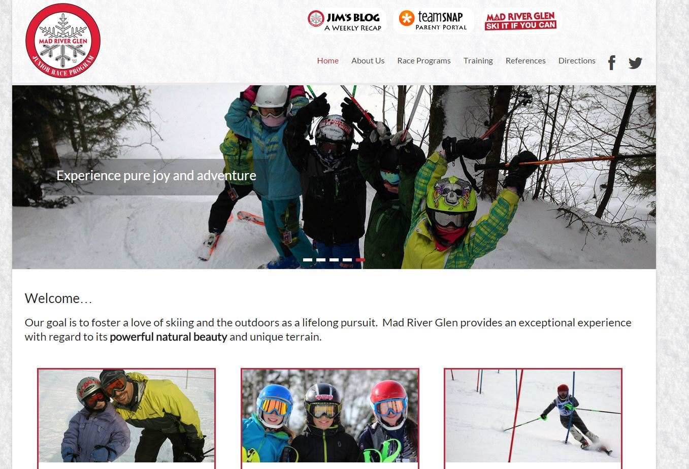 Mad River Glen Ski Club - Junior Race Program