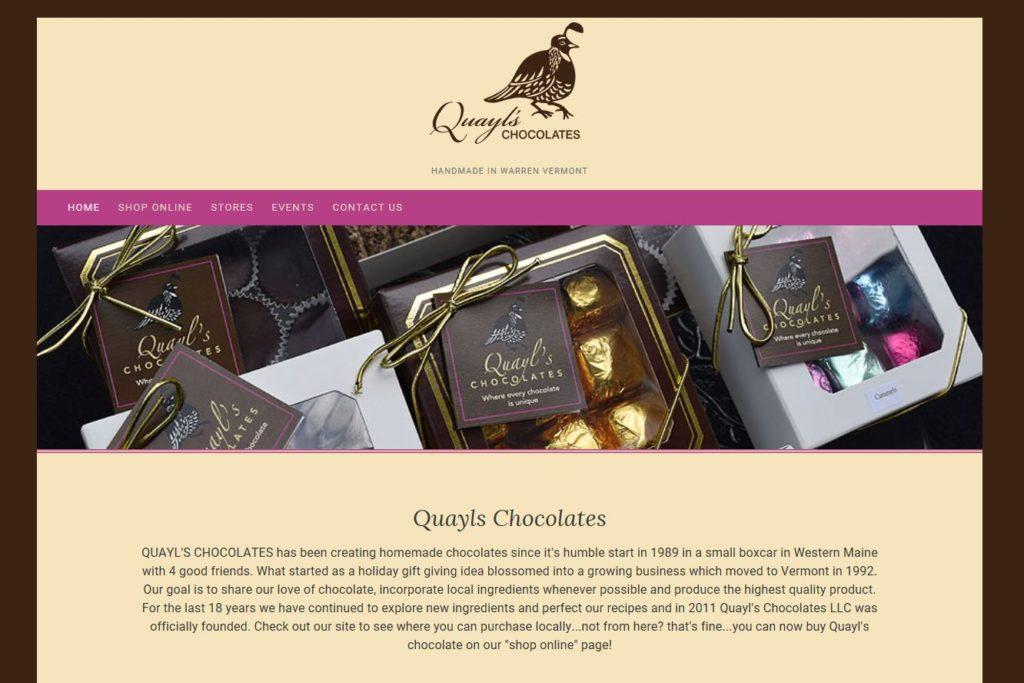 Quayl's Chocolates