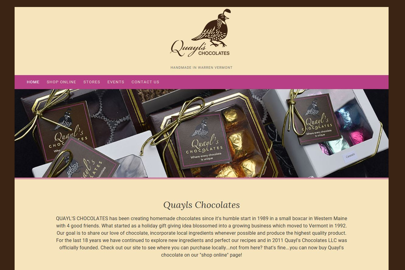 Quayl's Chocolates