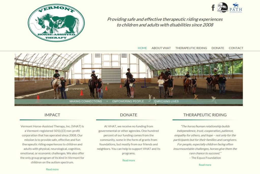 Vermont Horse Assisted Therapy