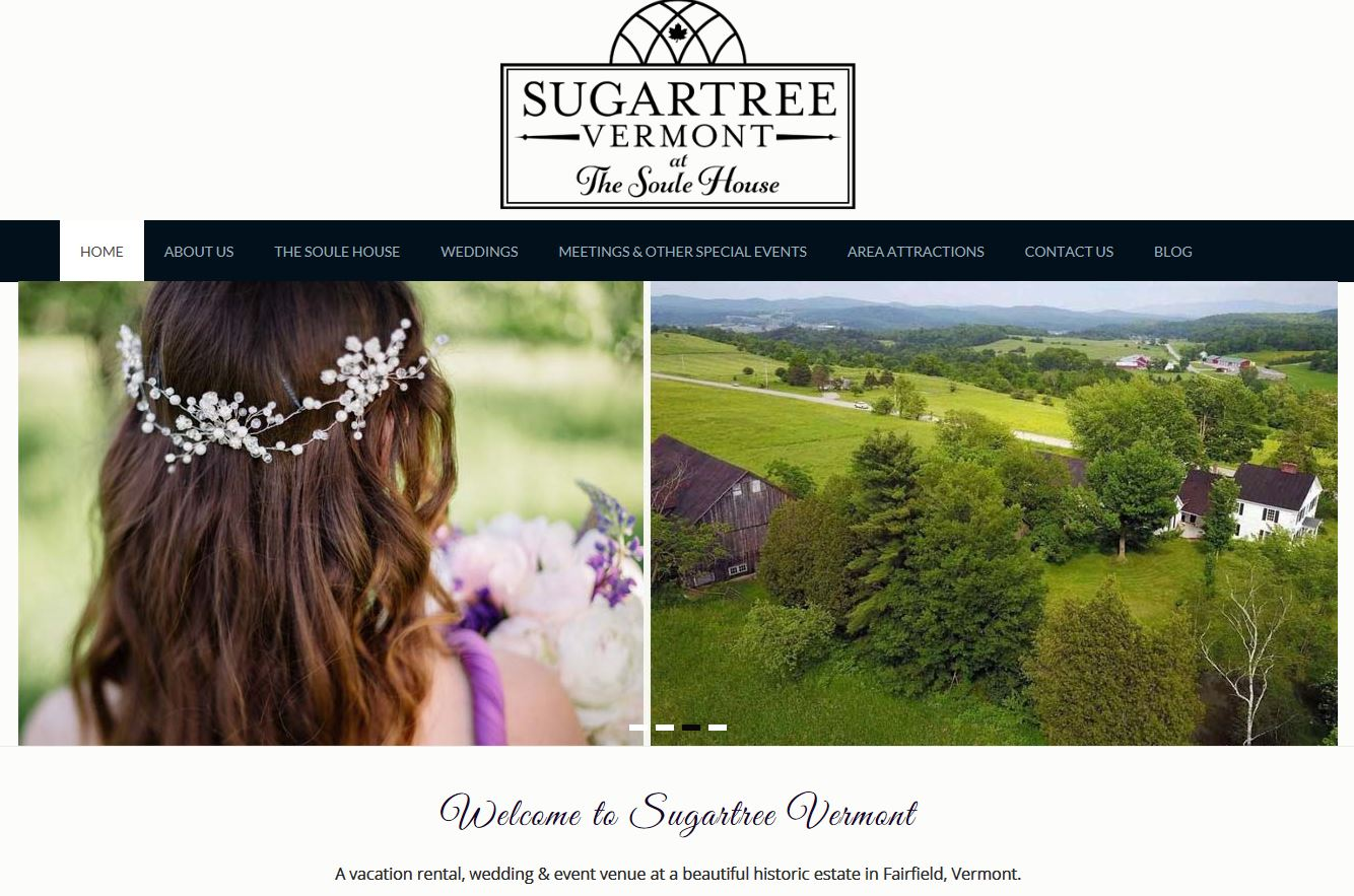 Sugartree Vermont - The Soule House - Fairfield Vermont
