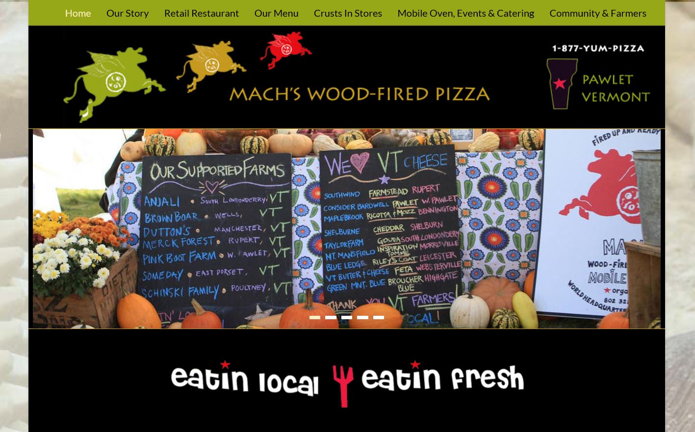 Mach's Wood-Fired Pizza